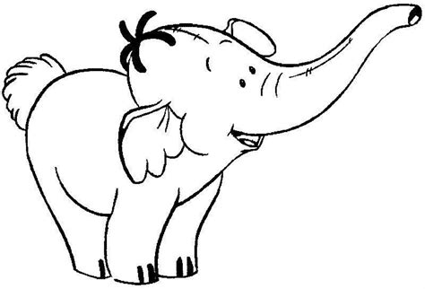 coloring pages of cartoon elephants baby elephant coloring pages cute elephant coloring page