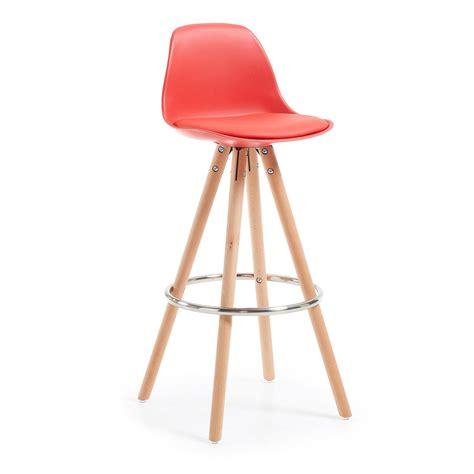 sgabello rosso sgabello stag rosso designperte it