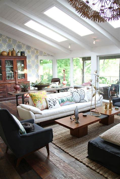 living room roof lights vaulted ceilings a modern twist on classic architecture
