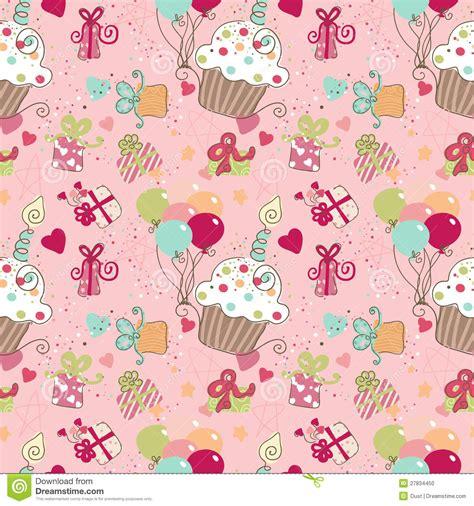 seamless pattern birthday seamless birthday pattern stock photo image 27834450