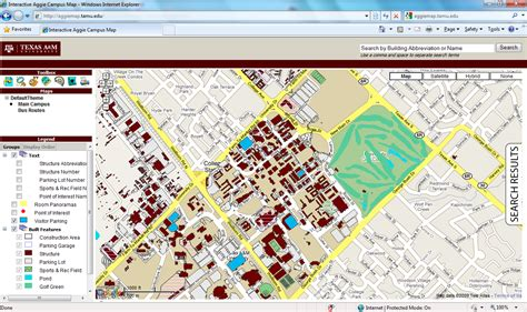 texas a and m map interactive maps office of facilities coordination