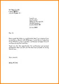 4 english resignation letter template cashier resumes