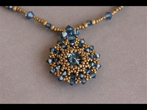 Sidonia Handmade Jewelry - sidonia s handmade jewelry 14mm swarovski rivoli pendant