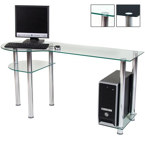 designer computer table designer glass computer table 3 levels work table desk