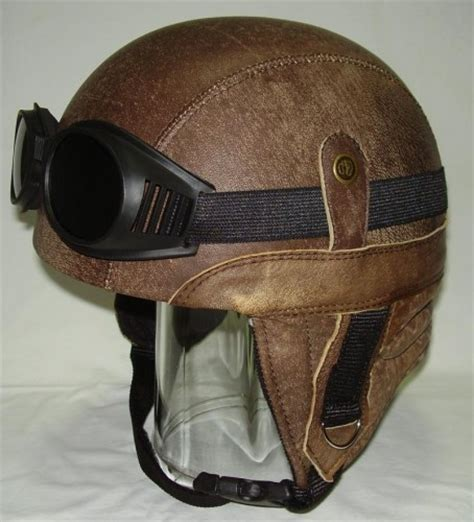 leather motorcycle helmet motorcycle helmet retro chopper leather antique