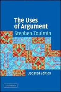 the structure of argument books stephen edelston toulmin quot the uses of argument quot free