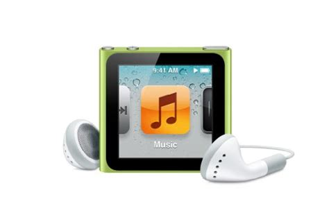 The Office Signed Ipod Nano by Apple Ipod Nano 16gb 6th Generation Green Discontinued