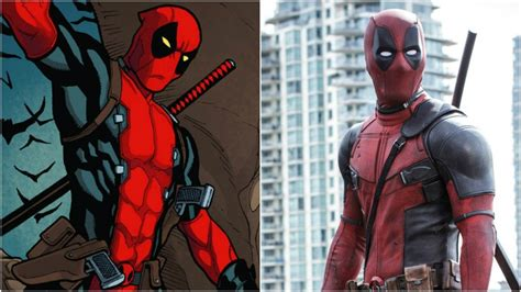 deadpool in marvel movie characters how marvel characters should really look