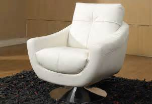 White Leather Office Chair Design Ideas Leather Swivel Chairs For Home Office User