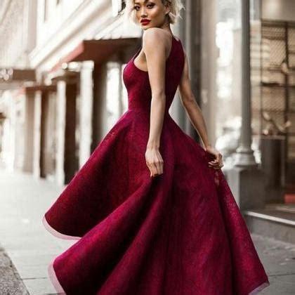 Black Split Longdress W8180usi D beautifuk prom dresses lace prom dress maroon prom dress