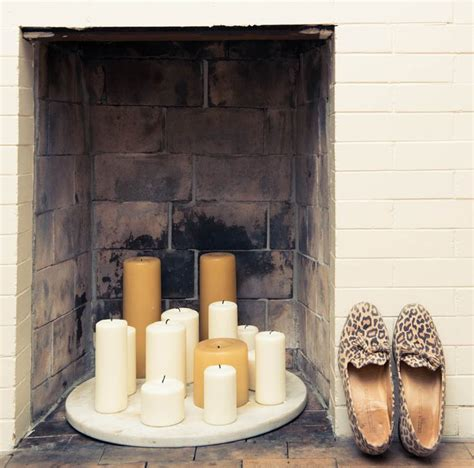candles in fireplace ideas candles in fireplace apt