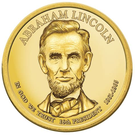 abraham lincoln gold coin presidential dollars collection willabee ward