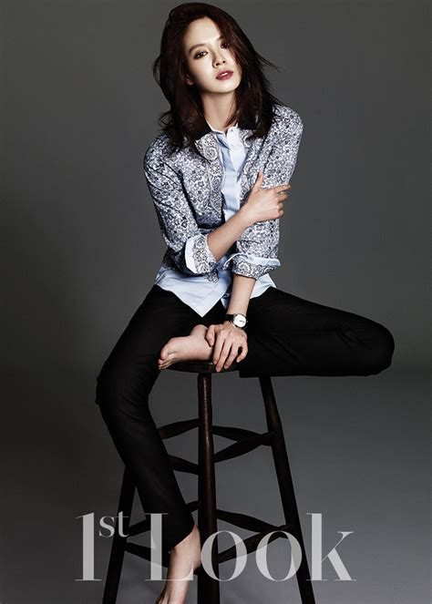 "Song Ji Hyo Is a Refined Beauty In ""First Look"" Pictorial   Soompi"