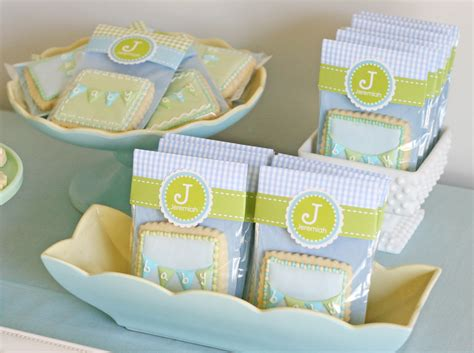cookie favors for baby shower vintage bunting baby shower glorious treats