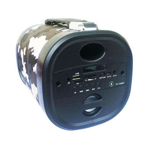 Speaker Advance Tp700 Bluetooth jual advance tp 700bt army portable bluetooth speaker hitam abu harga kualitas