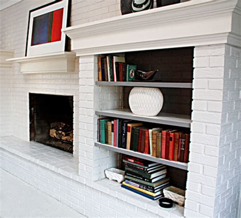 Yes You Can Paint Your Brick Fireplace Can You Paint Brick Fireplace