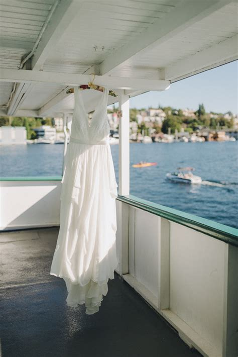 ferry boat wedding venue seattle mv skansonia ferry wedding olivia max taylor jones