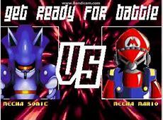 MECHA SONIC VS MECHA MARIO 2 Mugen 2016 - YouTube Mecha Mario Vs Metal Sonic
