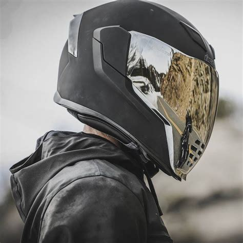 icon airflite rubatone helmet matte black
