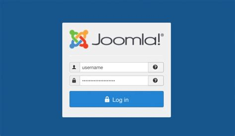 wordpress tutorial user login how to login to joomla