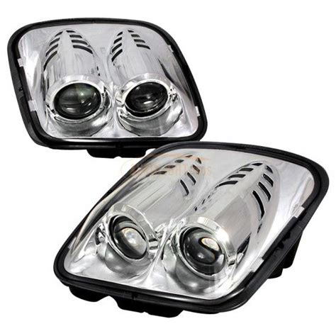 corvette aftermarket headlights 2002 chevy corvette chrome clear projector headlights for