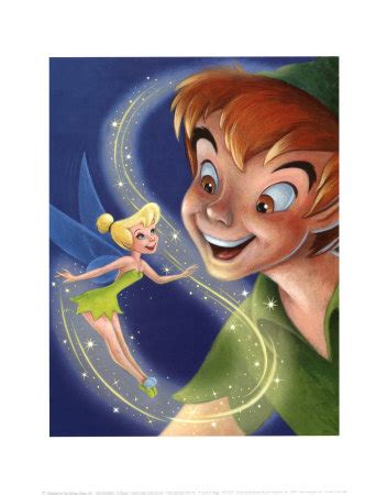 my pan and tinkerbell on tinker bell and pan a touch of magic tinker bell and pans