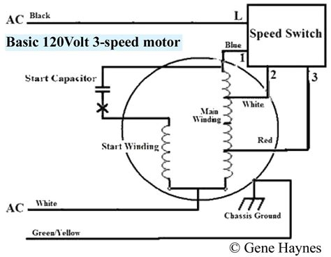 4 wire fan motor wiring diagram free wiring