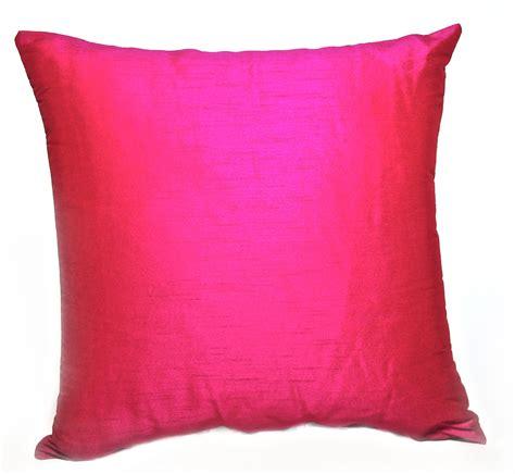 Silk Pillow by Fuschia Silk Pillow