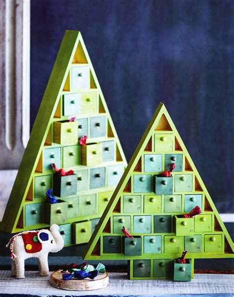 christmas tree wood advent calendar nova68 com