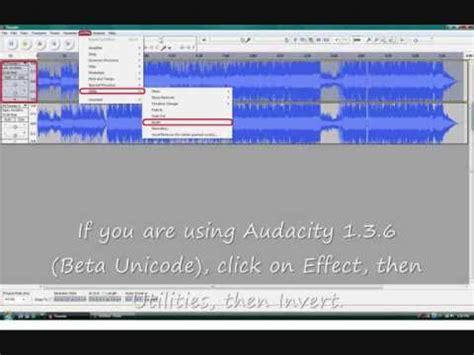 tutorial youtube audacity tutorial make karaoke using audacity youtube