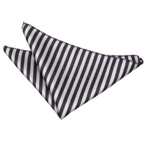 Alba Square White Silver Harga Sepasang dqt thin stripe black silver handkerchief pocket square where to buy how to wear