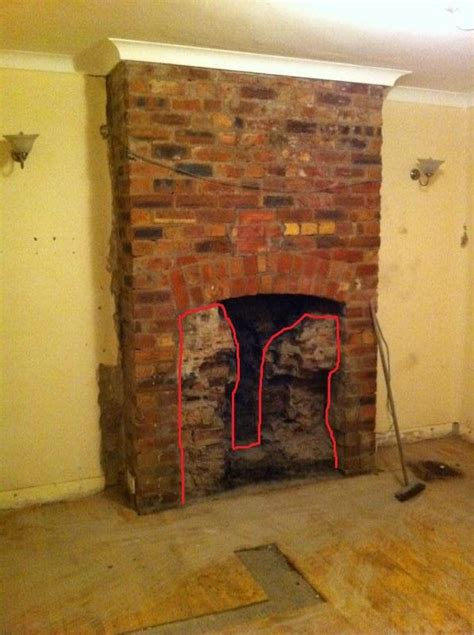 restoring an exposed brick fireplace diynot forums
