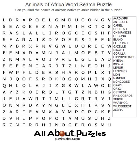 printable ocean animal word search where to find free crossword puzzles online word search