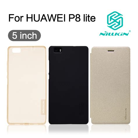 Silicone Huawei P8 Lite Ultrathin Softcase Tpu Sil Murah cover for huawei p8 lite nillkin flip cover pc plastic back csae soft tpu silicon