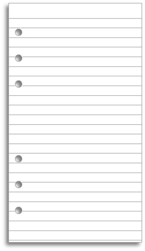 free printable lined paper with picture space download and print lined paper for your filofax filofax