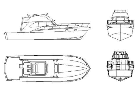boat plans cad bloques cad autocad arquitectura download 2d 3d dwg