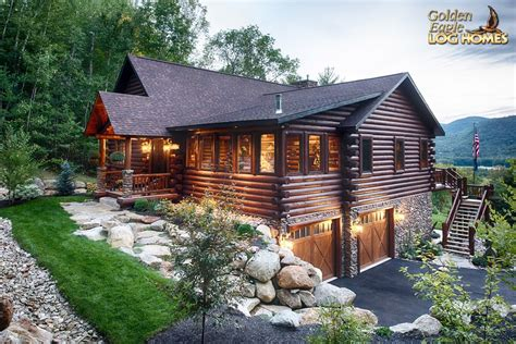 log cabin home golden eagle log and timber homes log home cabin