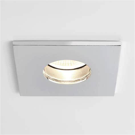 astro 5766 obscura square ip65 led bathroom downlight
