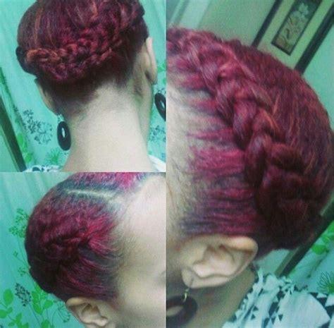 braided halo natural hair pinterest protective 1000 images about natural hair protective styling on