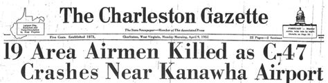 the charleston gazette on this day in west virginia history april 8