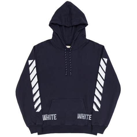 Flanel Hoody Navy White Strips white hoodie white knitwear sweatshirts