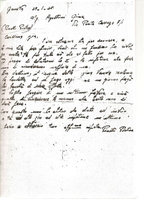 lettere partigiani i partigiani di quezzi
