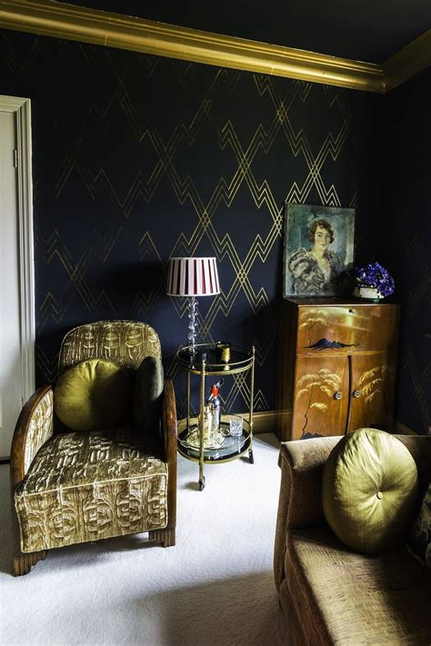 art deco living room ideas dgmagnets com design inspiration planet stencil library rachel s house