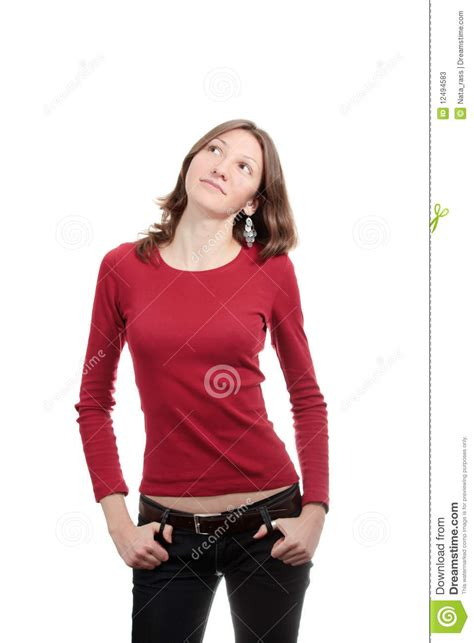 free model stock casual girl by arty monster on deviantart dreaming casual girl stock photos image 12494583