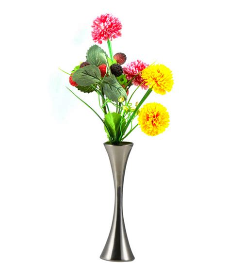 Metal Vases For Flowers by Stainless Steel Decorative Metal Flower Vase For Wedding