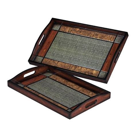 decorative serving trays decorative serving trays set of two