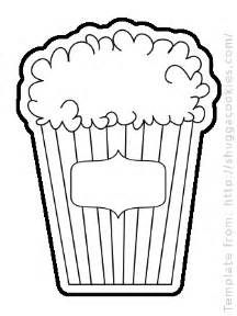 popcorn stand colouring pages