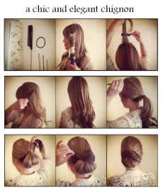 how to do mack hair hair today make a chic and elegant chignon