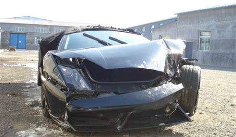 Lamborghini Destroyed Another Lamborghini Gallardo Destroyed Gtspirit