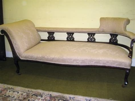 Edwardian Chaise Longue edwardian mahogany chaise longue 99727 sellingantiques co uk